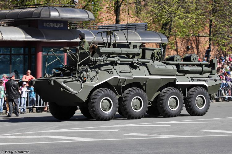 2014 Victory Day Parade-in-Nizhny-Novgorod Russia Military Russian Army Red-Star armore R-166-0 5 signal vehicle on K1Sh1 base 3 4000x2667 wallpaper