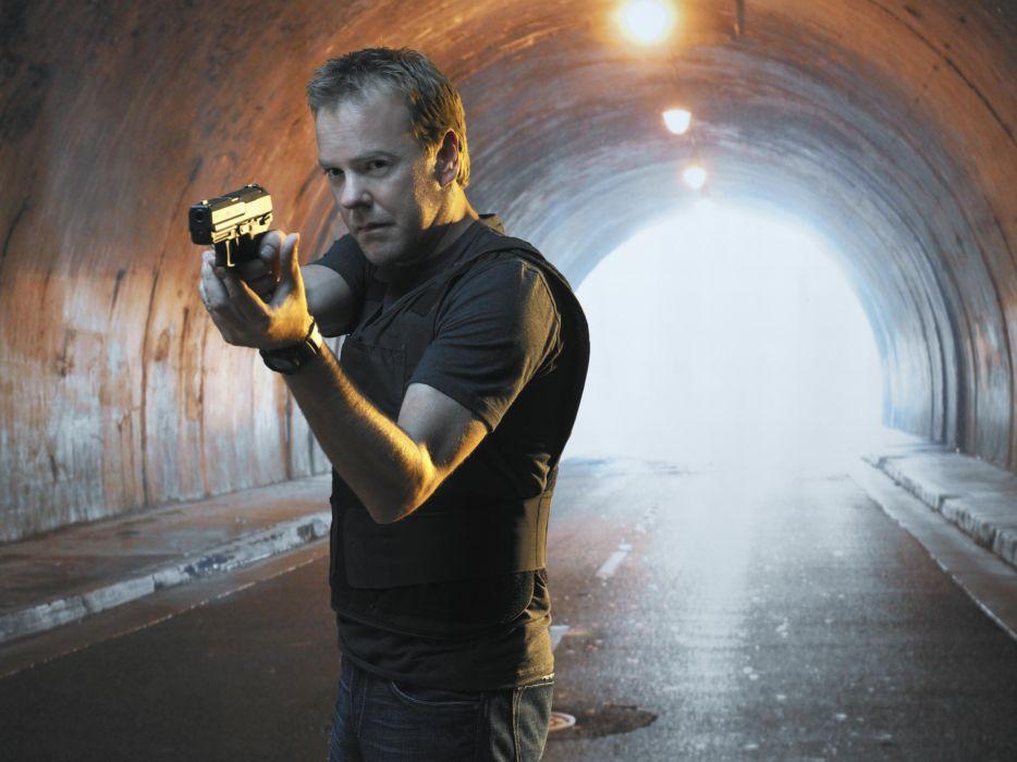 24 TWENTY-FOUR action mystery thriller crime twenty four weapon series (16) wallpaper