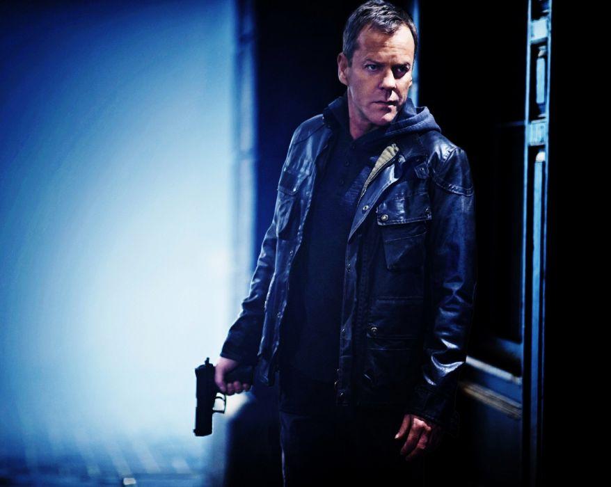 24 TWENTY-FOUR action mystery thriller crime twenty four weapon series (22) wallpaper
