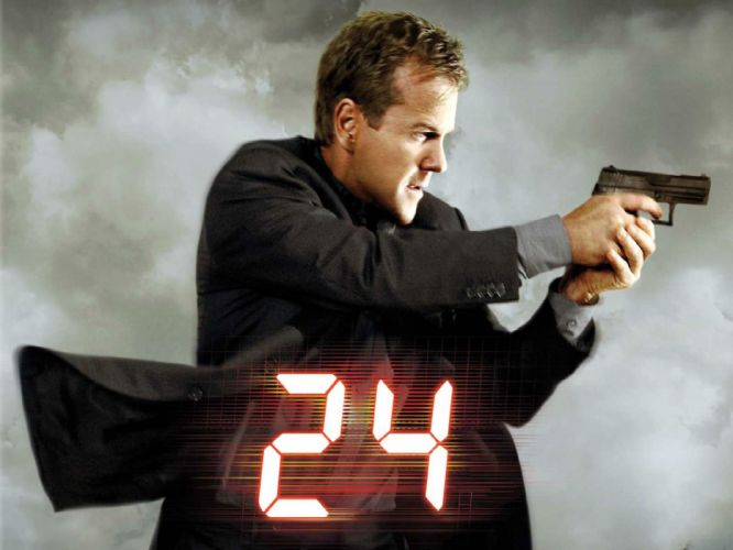 24 TWENTY-FOUR action mystery thriller crime twenty four weapon series (29) wallpaper