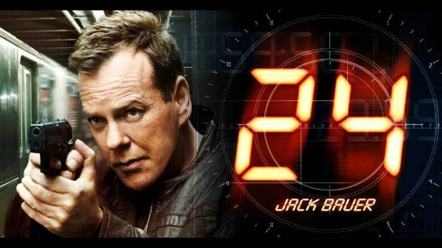 24 TWENTY-FOUR action mystery thriller crime twenty four weapon series (24) wallpaper