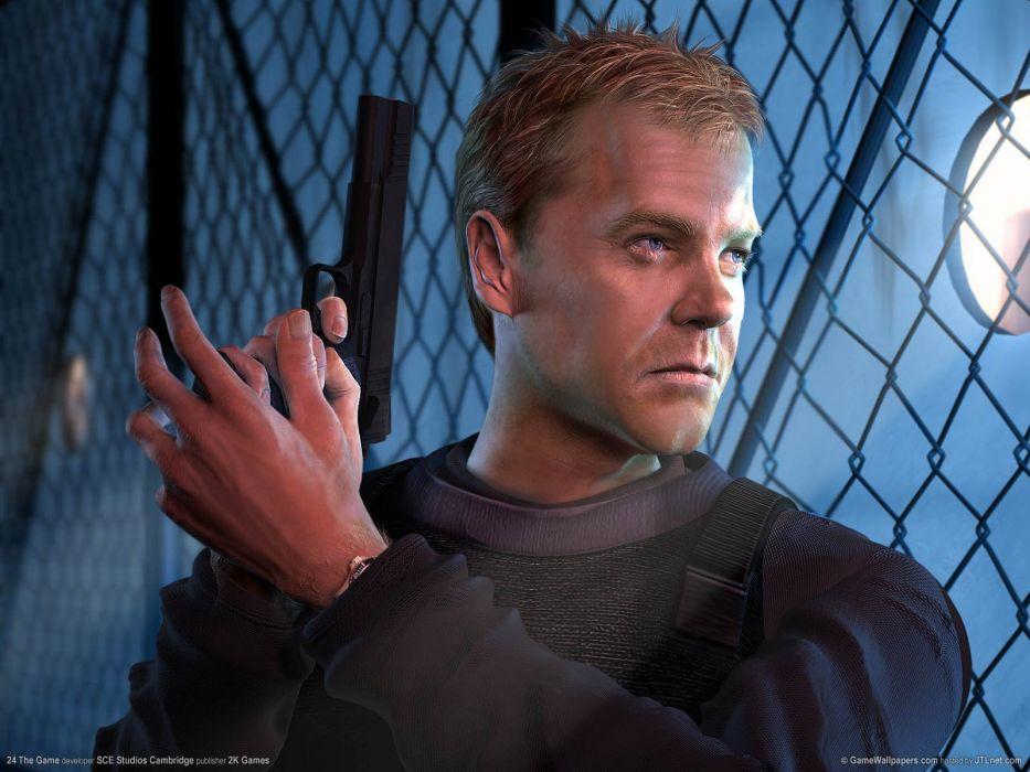 24 TWENTY-FOUR action mystery thriller crime twenty four weapon series (53) wallpaper