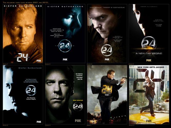 24 TWENTY-FOUR action mystery thriller crime twenty four weapon series (60) wallpaper