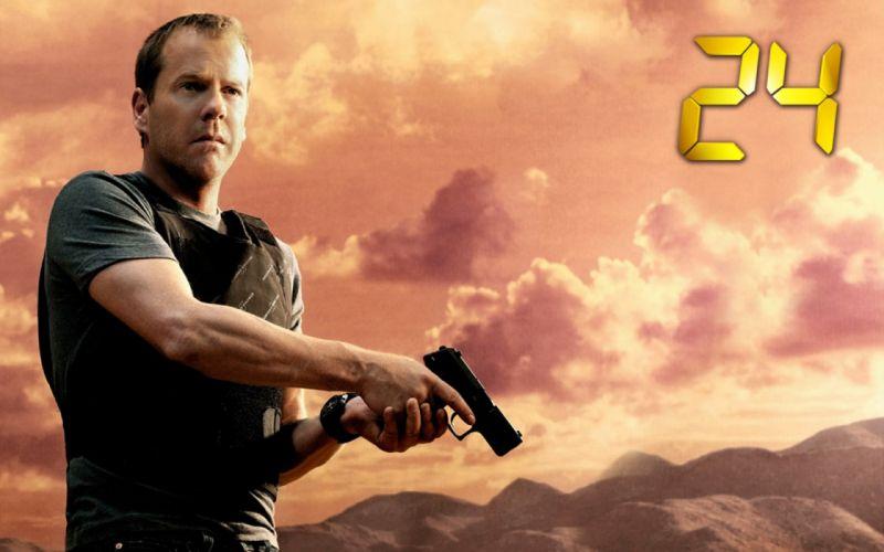 24 TWENTY-FOUR action mystery thriller crime twenty four weapon series (58) wallpaper