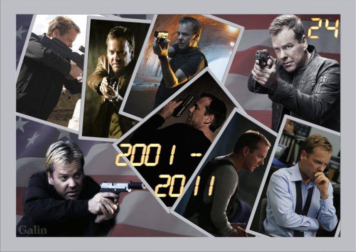 24 TWENTY-FOUR action mystery thriller crime twenty four weapon series (78) wallpaper