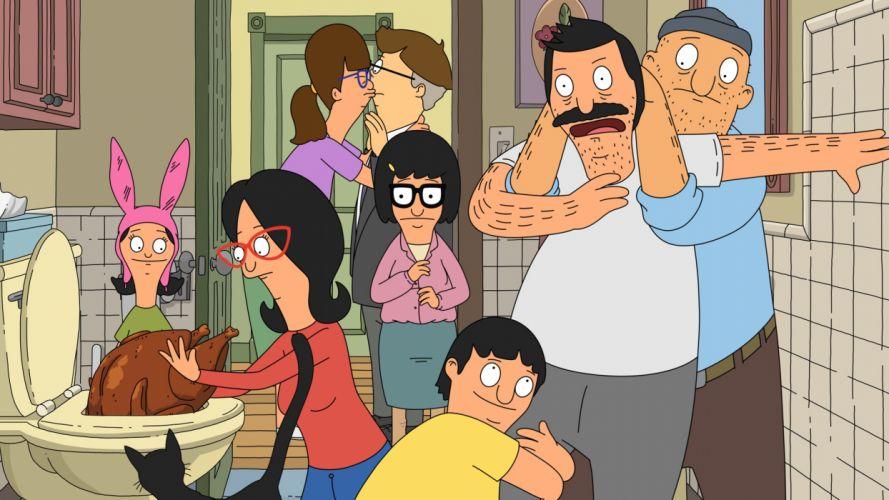 BOBS BURGERS animation comedy cartoon fox series family (15) wallpaper