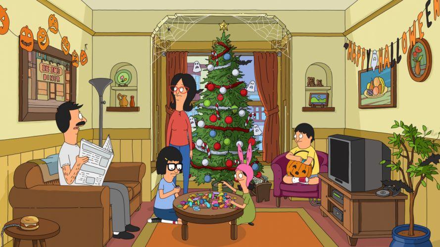 BOBS BURGERS animation comedy cartoon fox series family (17) wallpaper