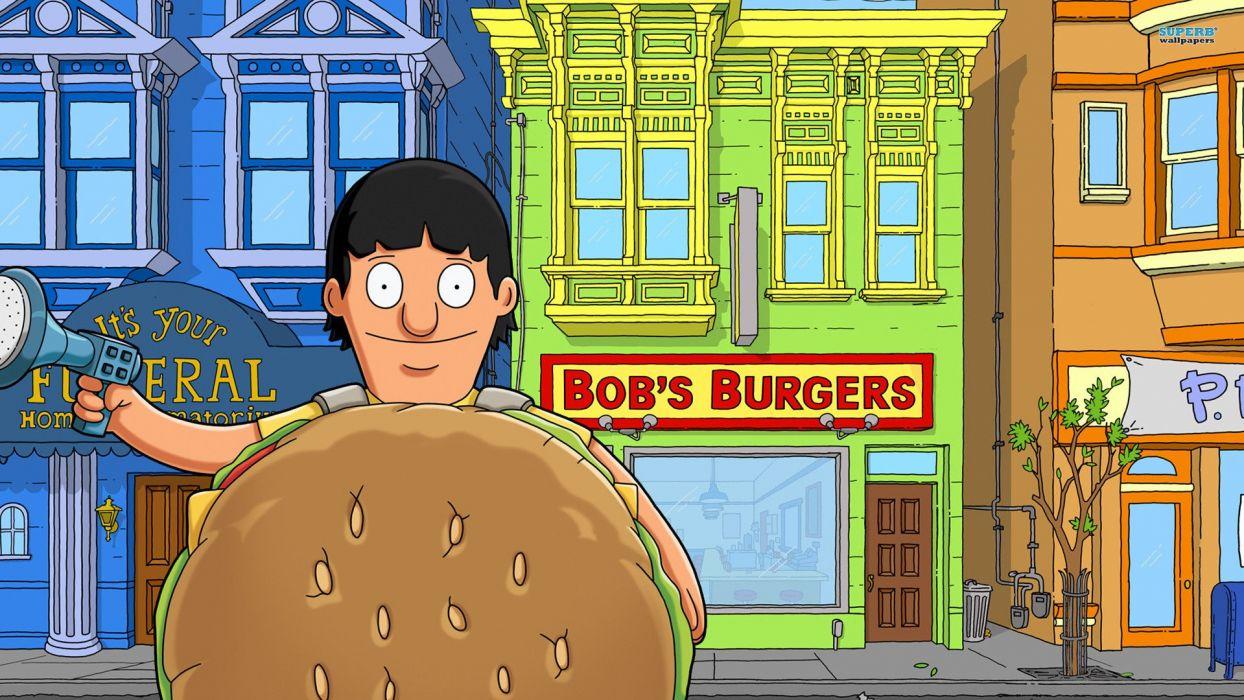 BOBS BURGERS animation comedy cartoon fox series family (40) wallpaper