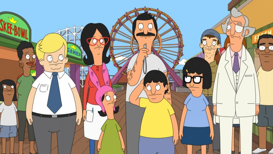 BOBS BURGERS animation comedy cartoon fox series family (42) wallpaper