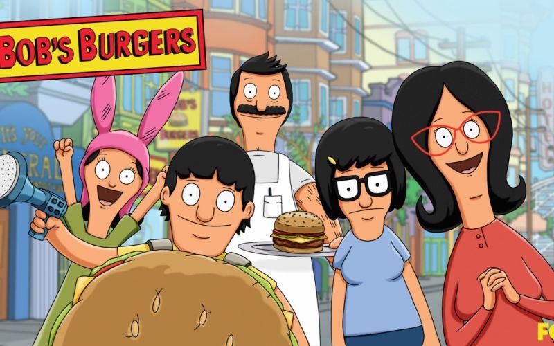 BOBS BURGERS animation comedy cartoon fox series family (51) wallpaper