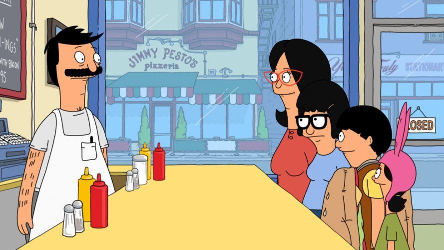 BOBS BURGERS animation comedy cartoon fox series family (48) wallpaper