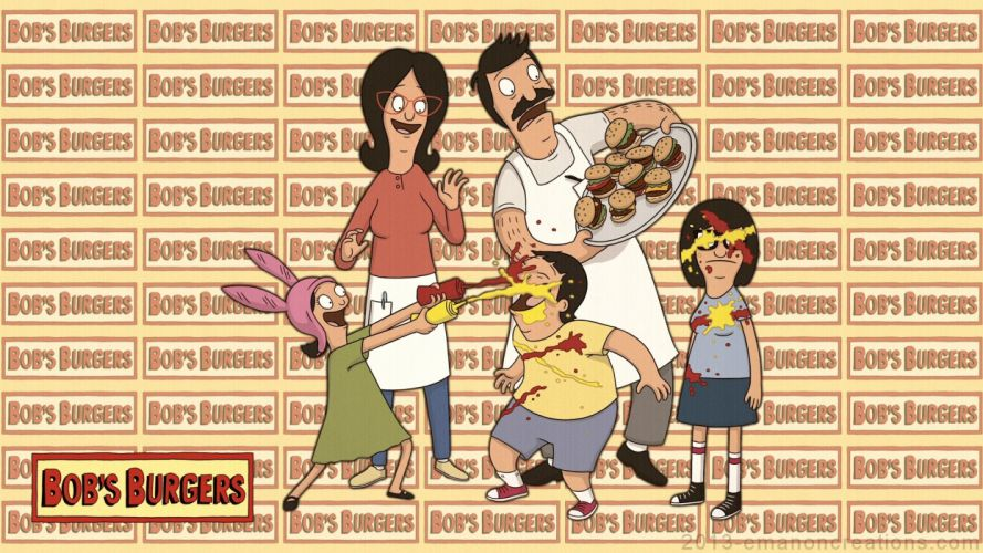 BOBS BURGERS animation comedy cartoon fox series family (49) wallpaper