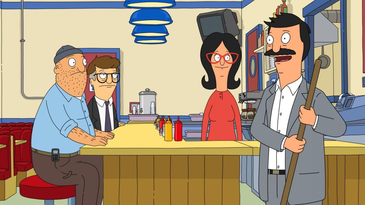 BOBS BURGERS animation comedy cartoon fox series family (4)_JPG wallpaper