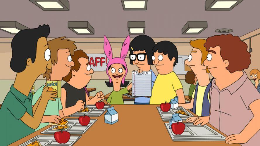 BOBS BURGERS animation comedy cartoon fox series family (35) wallpaper