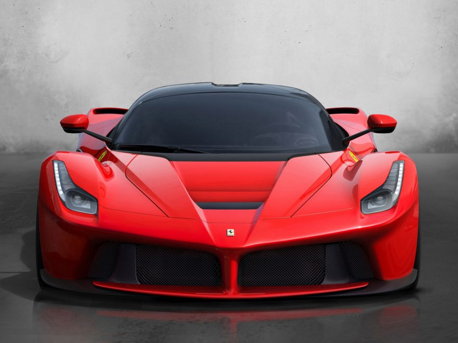 ferrari laferrari supercar car Italy red sport-gt 2013 4000x3000 wallpaper