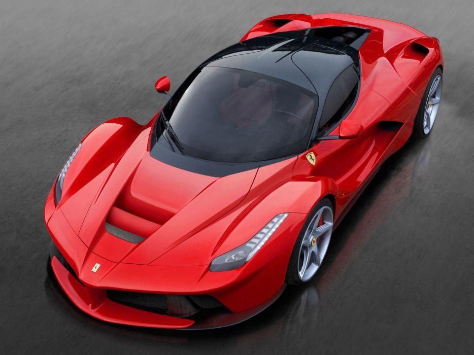 Ferrari Laferrari Supercar Car Italy Red Sport Gt 2013 4000x3000 Wallpaper