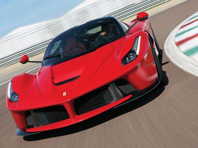 ferrari laferrari supercar car Italy red sport-gt 2013 4000x3000 wallpaper