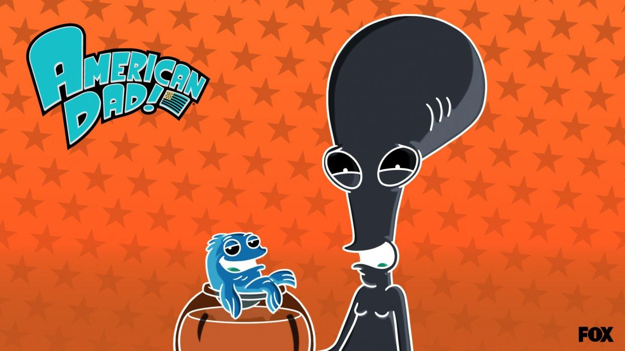 AMERICAN DAD animation comedy cartoon series family (11) wallpaper