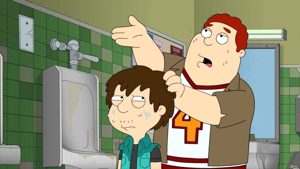 AMERICAN DAD animation comedy cartoon series family (35) wallpaper