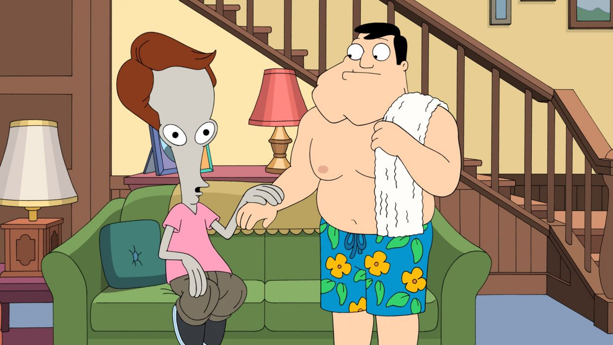 AMERICAN DAD animation comedy cartoon series family (71) wallpaper