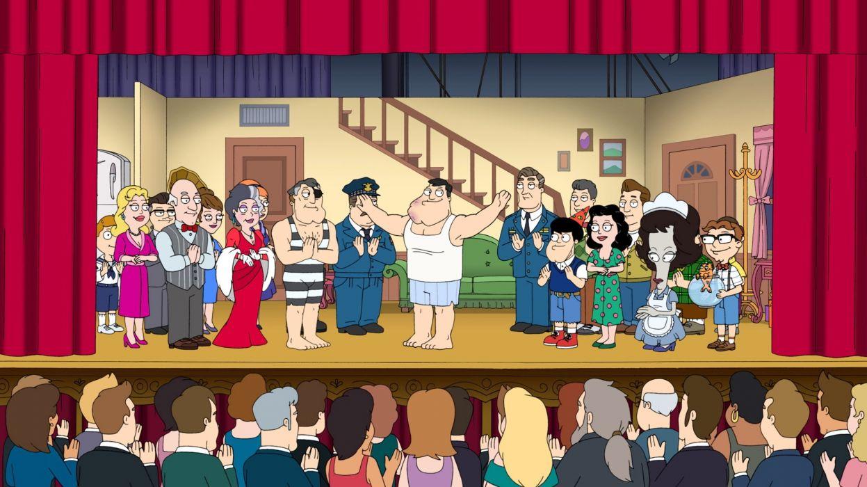 AMERICAN DAD animation comedy cartoon series family (41) wallpaper