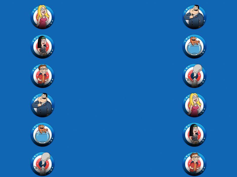 AMERICAN DAD animation comedy cartoon series family (38) wallpaper