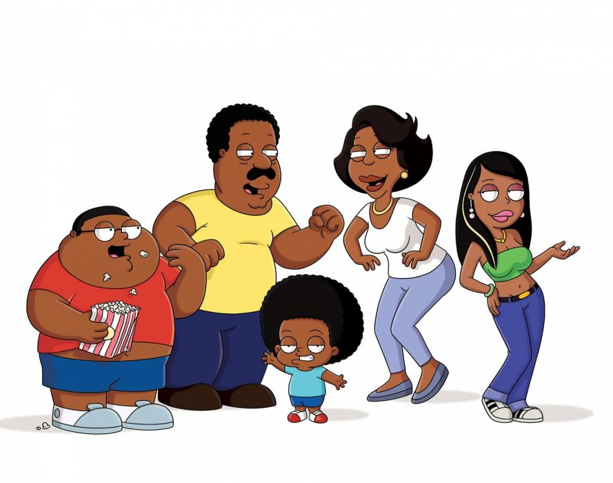 CLEVELAND SHOW animation comedy series cartoon (10) wallpaper
