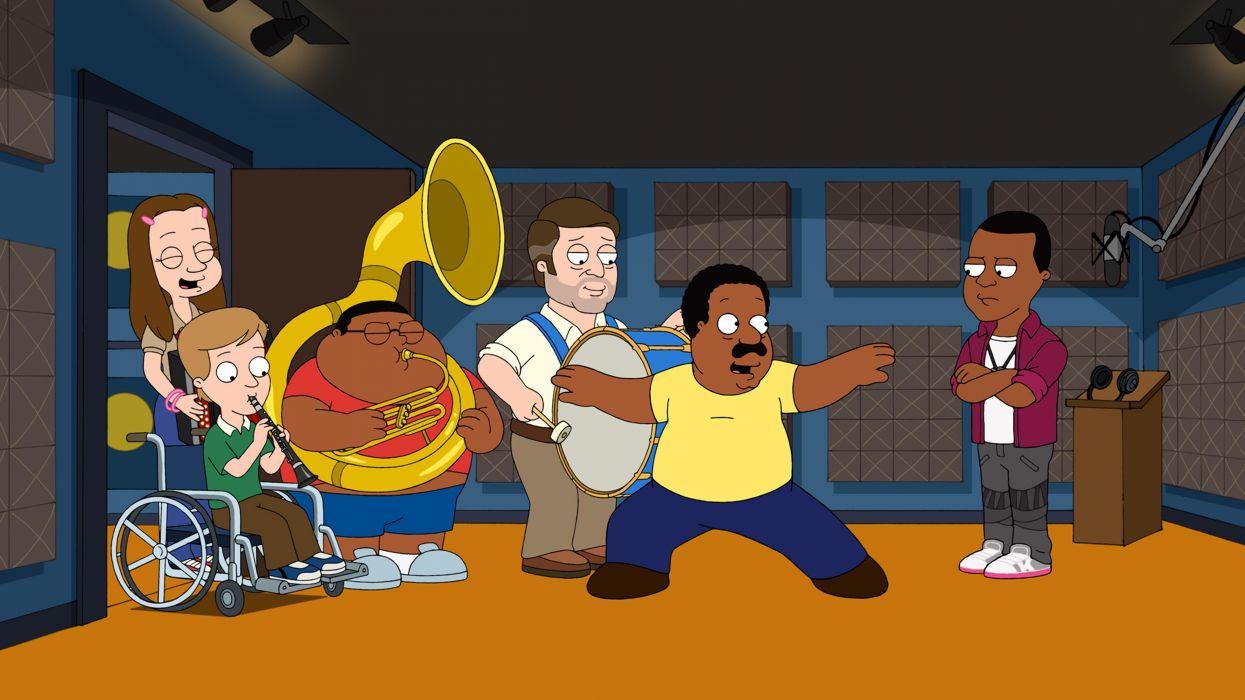 CLEVELAND SHOW animation comedy series cartoon (1) wallpaper