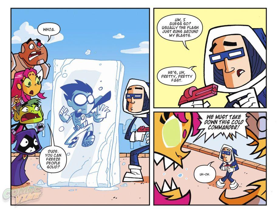 TEEN TITANS animation action adventure superhero dc-comics comic (14) wallpaper