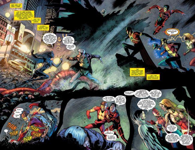 TEEN TITANS animation action adventure superhero dc-comics comic (18) wallpaper