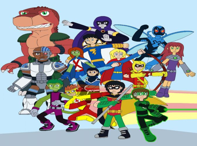 TEEN TITANS animation action adventure superhero dc-comics comic (30) wallpaper