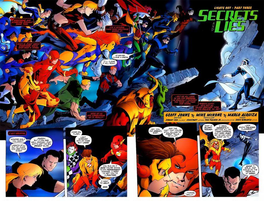 TEEN TITANS animation action adventure superhero dc-comics comic (27) wallpaper