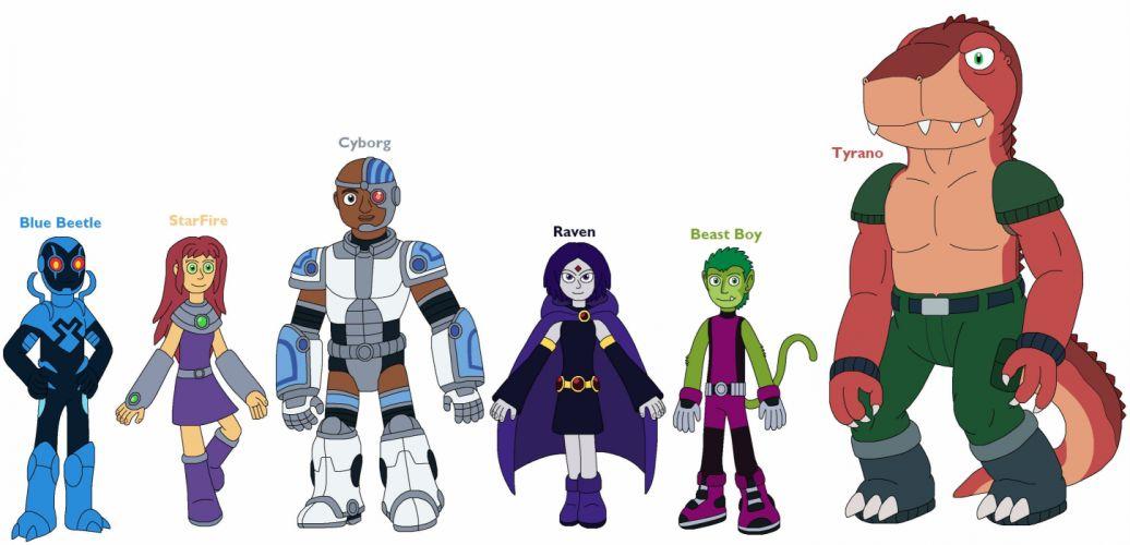 TEEN TITANS animation action adventure superhero dc-comics comic (25) wallpaper