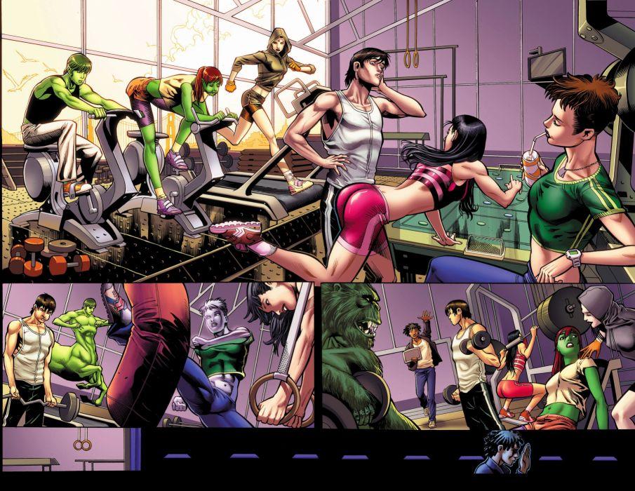 TEEN TITANS animation action adventure superhero dc-comics comic (29) wallpaper