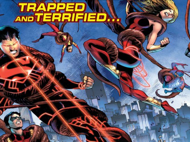 TEEN TITANS animation action adventure superhero dc-comics comic (43) wallpaper