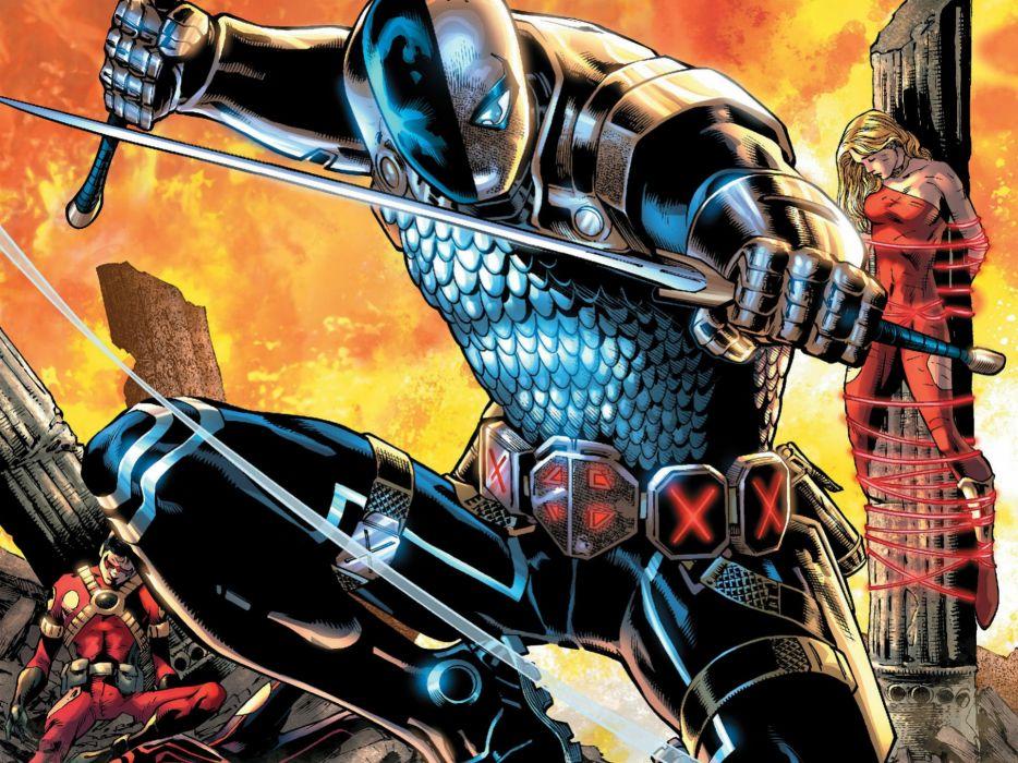 TEEN TITANS animation action adventure superhero dc-comics comic (42) wallpaper