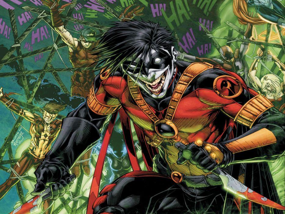 TEEN TITANS animation action adventure superhero dc-comics comic (37) wallpaper