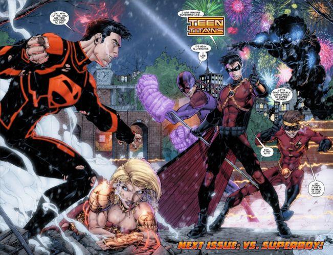 TEEN TITANS animation action adventure superhero dc-comics comic (45) wallpaper
