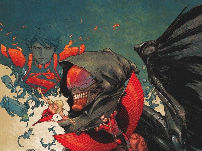 TEEN TITANS animation action adventure superhero dc-comics comic (82) wallpaper