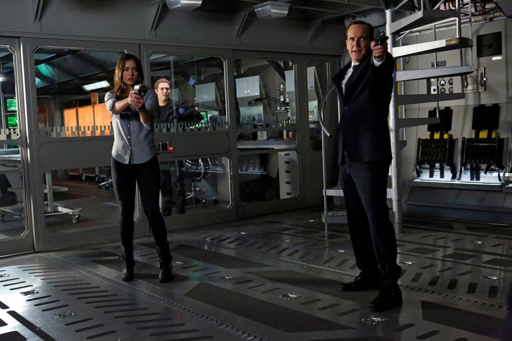 AGENTS OF SHIELD action drama sci-fi marvel comic series crime (4) wallpaper
