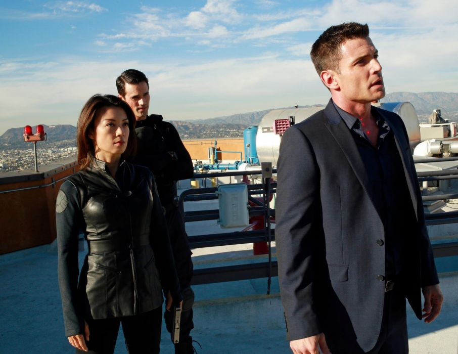 AGENTS OF SHIELD action drama sci-fi marvel comic series crime (22) wallpaper