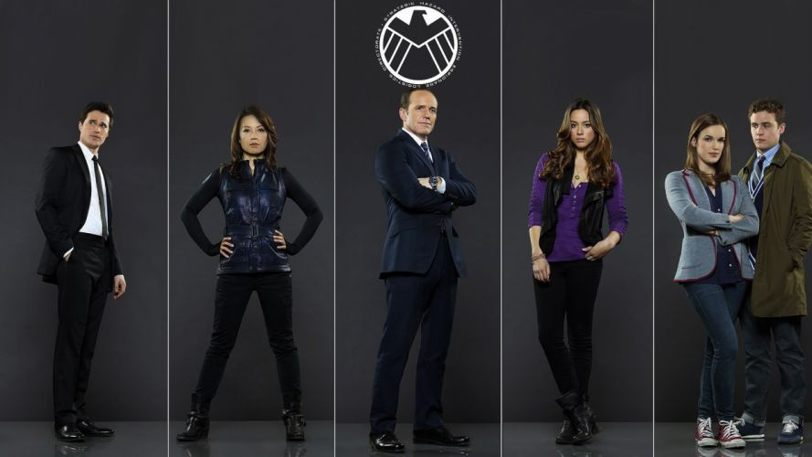 AGENTS OF SHIELD action drama sci-fi marvel comic series crime (52) wallpaper