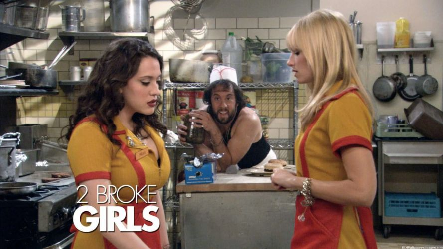 2 BROKE GIRLS comedy sitcom series babe (16) wallpaper