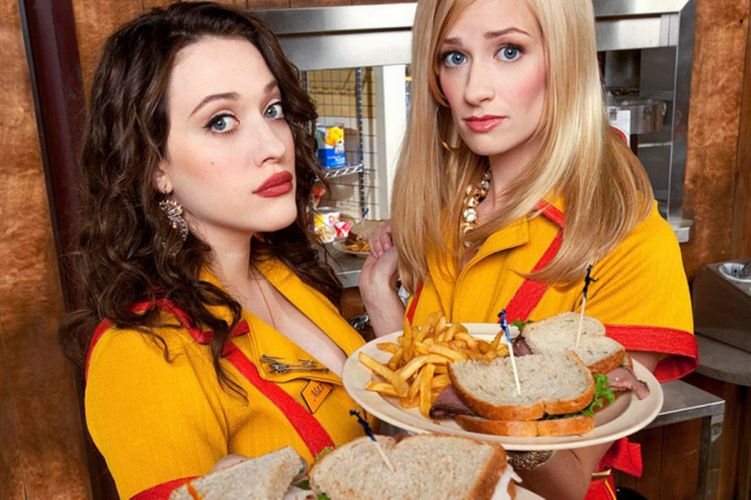 2 BROKE GIRLS comedy sitcom series babe (54) wallpaper