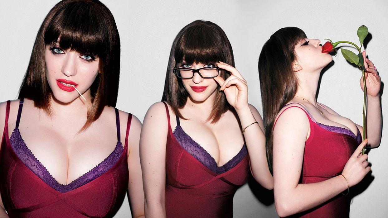 2 BROKE GIRLS comedy sitcom series babe (68) wallpaper