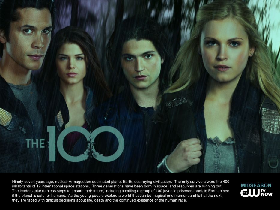 THE-100 drama sci-fi series 100 hundred one (12) wallpaper