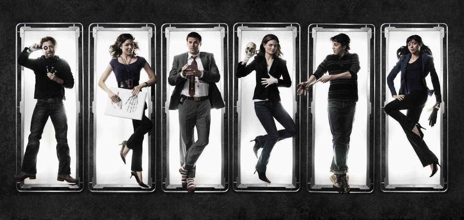 BONES comedy crime drama series (1) wallpaper