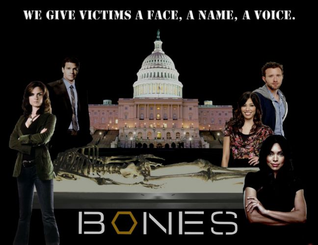BONES comedy crime drama series (62) wallpaper