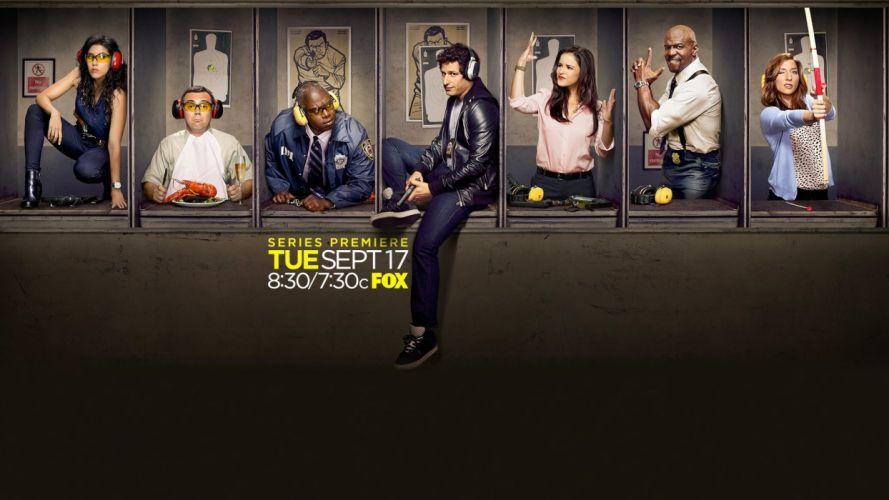 BROOKLYN NINE-NINE comedy crime series nine sitcom (1) wallpaper