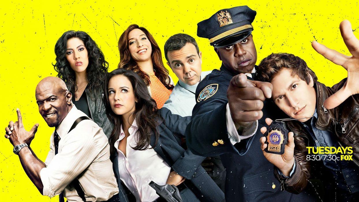 BROOKLYN NINE-NINE comedy crime series nine sitcom (19) wallpaper